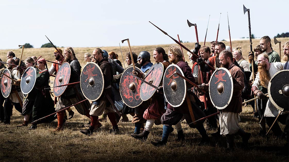 Novo estudo expõe a tecnologia dos escudos vikings