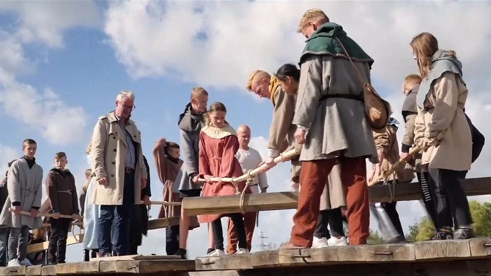 A mais longa ponte viking do mundo