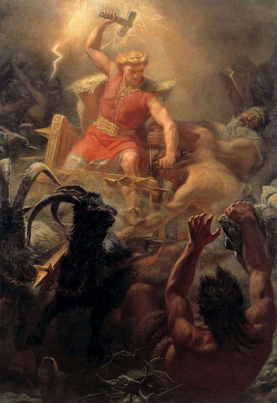Thor luta contra as forças da ignorância