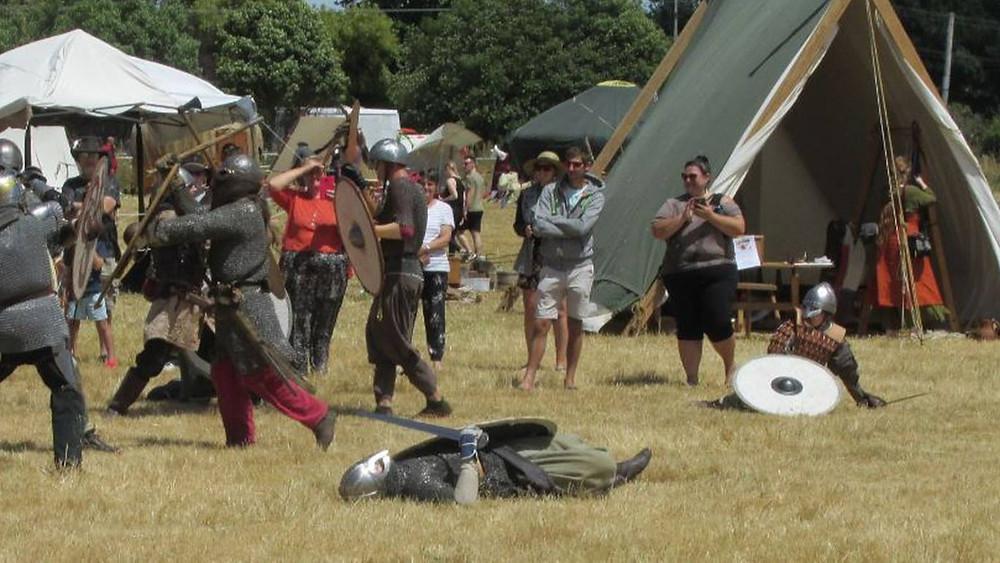 Festival celebrou o legado viking de Norsewood na Nova Zelândia.