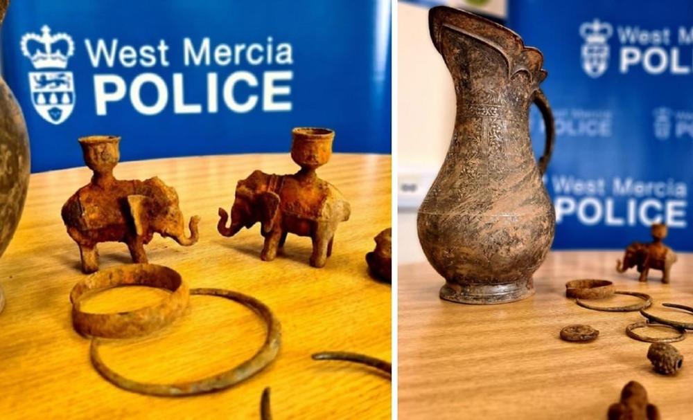Um tesouro viking roubado foi redescoberto por um detector de metais na Inglaterra