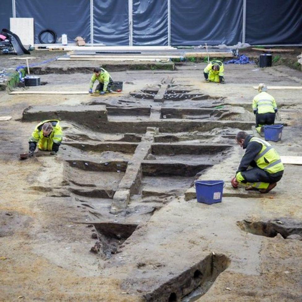 Um navio viking digno de um rei é escavado na Noruega