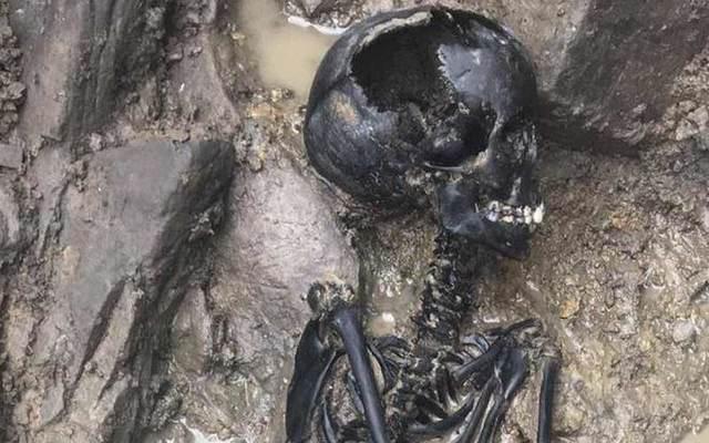 Restos mortais de uma criança viking foram encontrados em Dublin