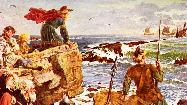 O vocabulário dos vikings influenciou o inglês moderno.