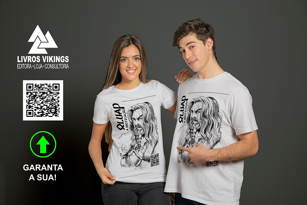 Adquira as suas camisetas da Saga Viking Oluap