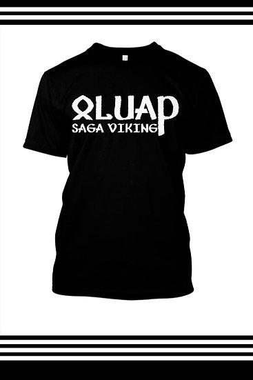 Camiseta Masculina Saga Viking Oluap - Preta