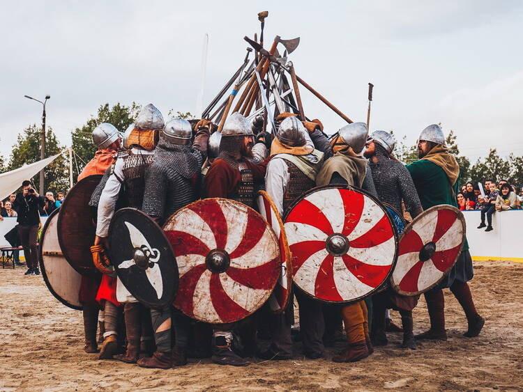 Monchegorsk sediará um festival viking na Rússia