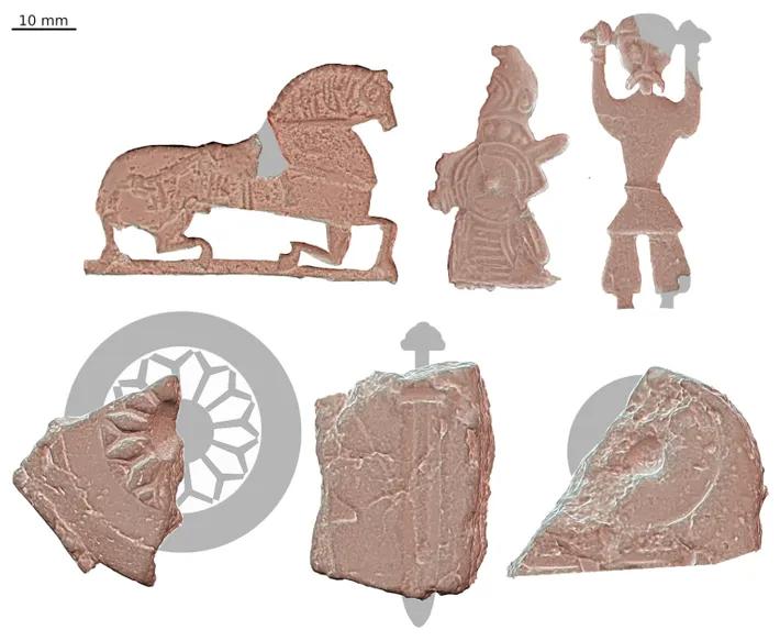 """Artefatos enigmáticos entram em cheque após a descoberta de uma """"fábrica"""" de amuletos vikings"""