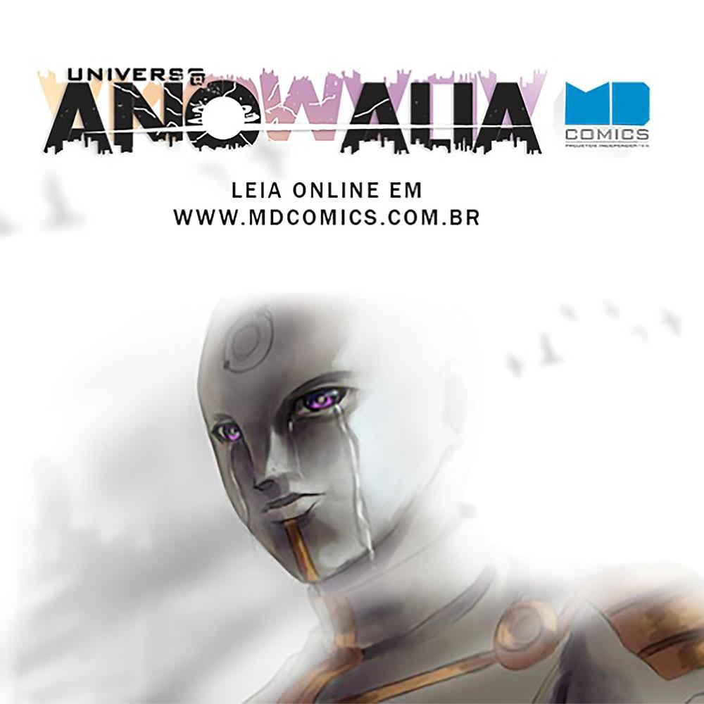 Leio online o Universo Anomalia...