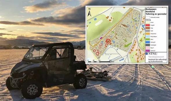 Arqueólogos descobrem 15 túmulos supreendentemente bons na Noruega