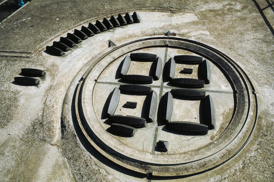 Model of the original Viking fortress at Trelleborg in Denmark.DE AGOSTINI VIA GETTY IMAGES