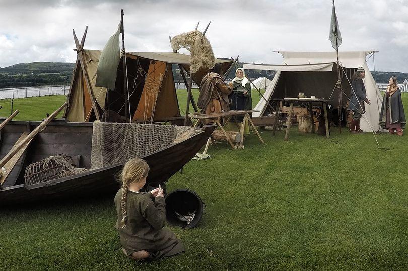 A marina de Crossmichael na Escócia receberá um acampamento viking especial