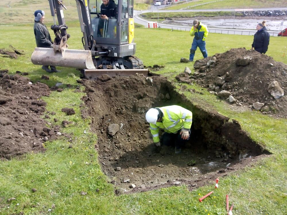 A escavação de Scalloway, a capital viking perdida de Shetland, começa