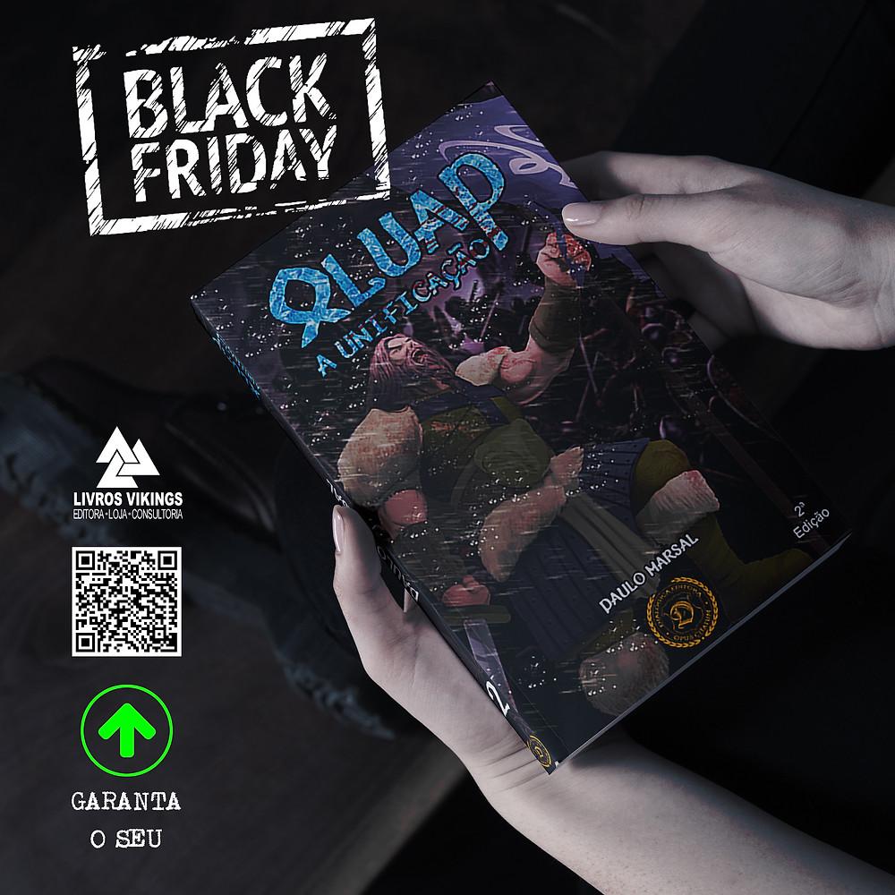 Aproveite a Black Friday da Livros Vikings e garanta o seu exemplar de Oluap, a unificação.