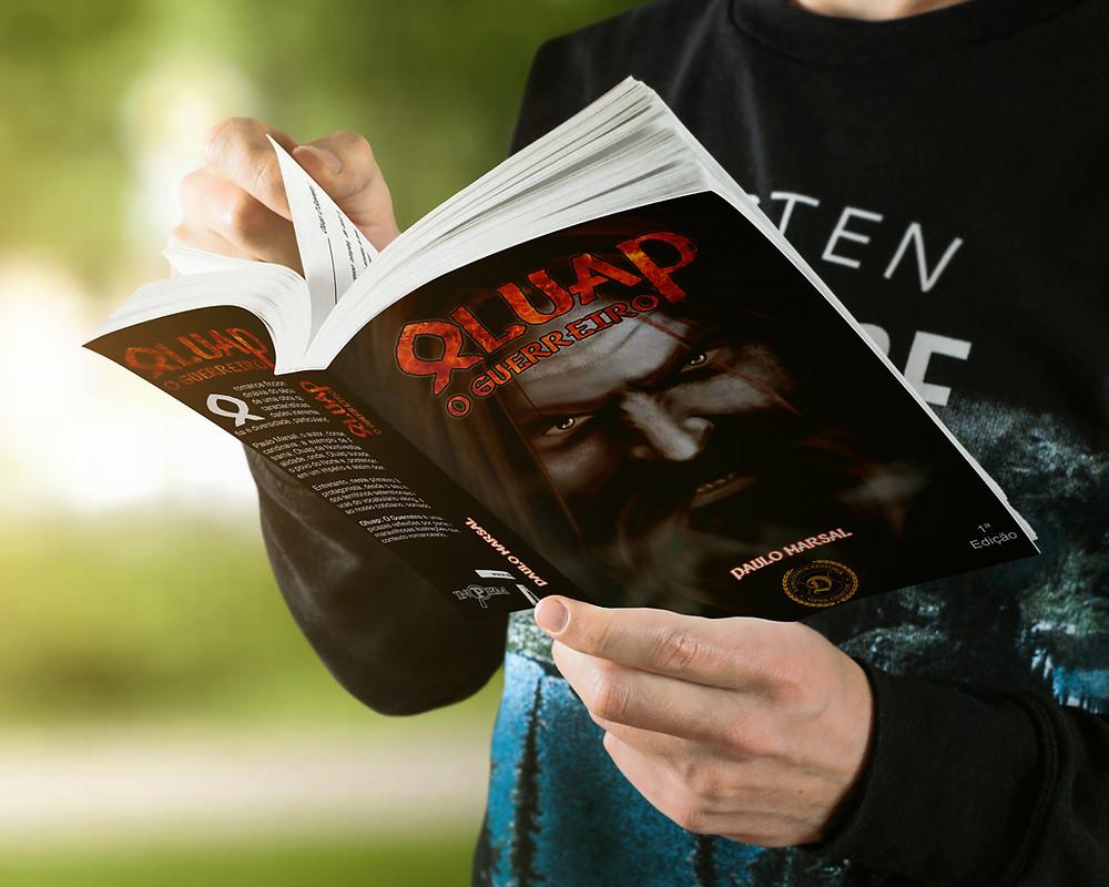 Leia o romance ficcional viking Oluap, o Guerreiro de Paulo Marsal