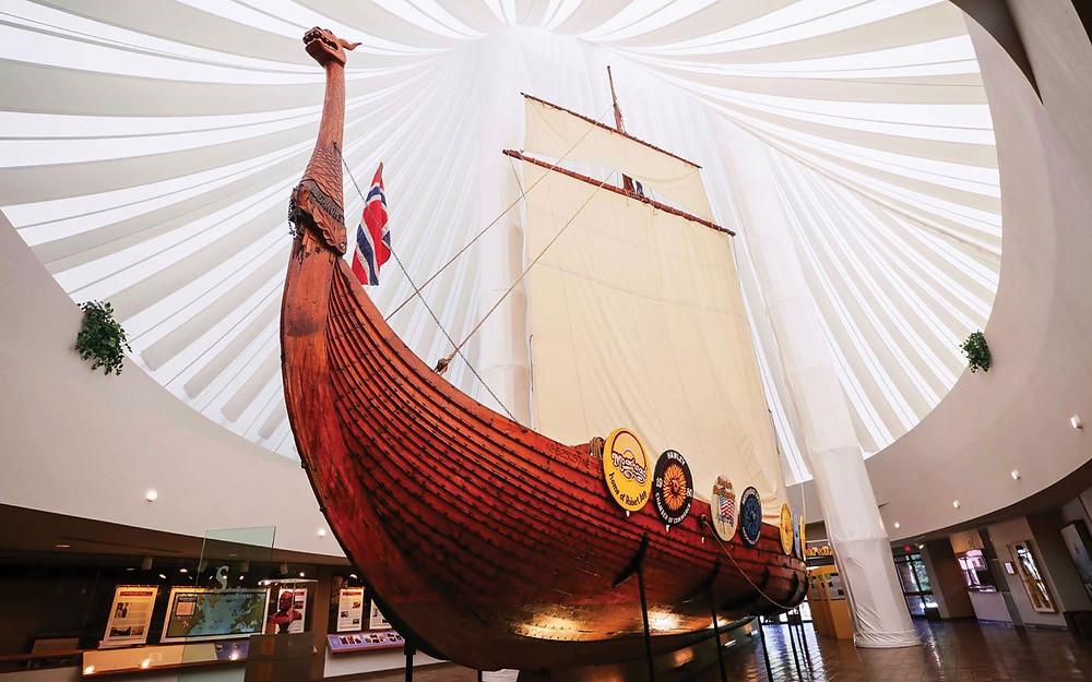Como um navio viking acabou em Moorhead nos Estados Unidos