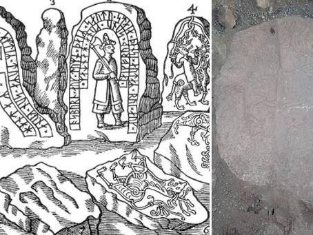 SUÉCIA REDESCOBRE UMA PEDRA MONUMENTAL PERDIDA HÁ 300 ANOS