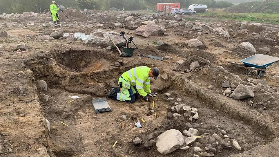 Tesouro de prata viking foi encontrado na Suécia
