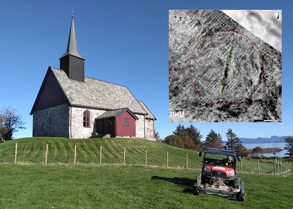 Último navio viking descoberto na Noruega foi encontrado ao lado de uma igreja
