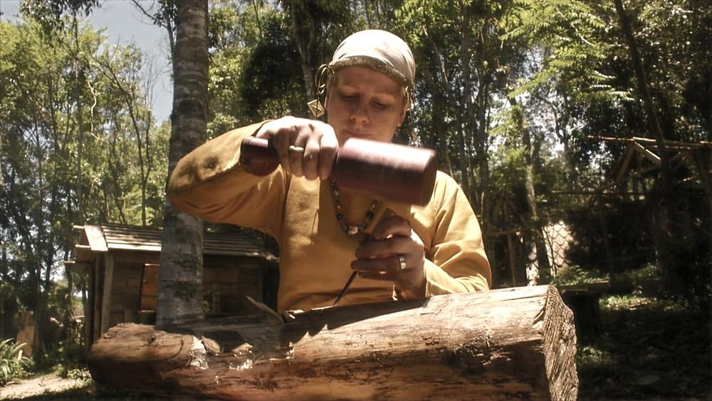 Honrando os Deuses durante o Midsommar na Vila Viking Brasil