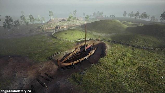 Seria um rei ou uma rainha, a pessoa enterrada no funerário viking de Gjellestad