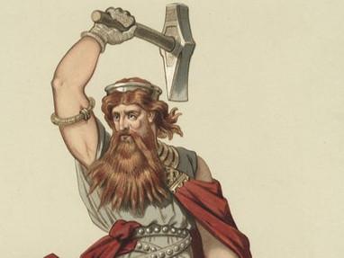 ÞÓRR, THE GUARDIAN OF MANKIND AND HIS MJǪLLNIR