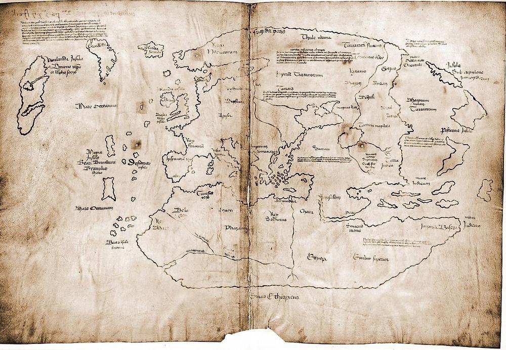 Suposto mapa viking da América é uma falsificação do Século XX.
