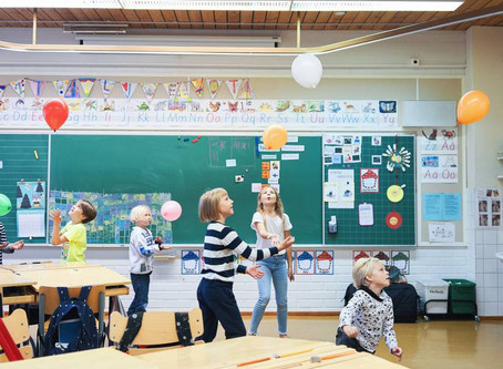 Na Finlândia as crianças em idade escolar decidem o que e como aprender