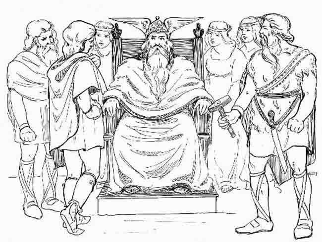 Os deuses nórdicos e os dias vikings da semana