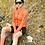 Thumbnail: SKULL MONTON WOMENS LONG SLEEVE CYCLING JERSEY THURSDAY ORANGE