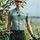 Thumbnail: SKULL MONTON MENS CYCLING JERSEY WEDNESDAY GRAYGREEN