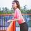 Thumbnail: Summer Orangered Women (Short sleeve)