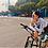 Thumbnail: SKULL MONTON WOMENS LONG SLEEVE CYCLING JERSEY HOLIDAY WHITE