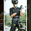 Thumbnail: MENS SHORT SLEEVE CYCLING JERSEY SKULL MONTON MASK WEEKEND BLACK