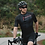 Thumbnail: PRO MENS SHORT SLEEVE CYCLING JERSEY GOWIND BLACK