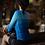 Thumbnail: WOMENS LONG SLEEVE CYCLE JERSEYS COBRAND WATER BLUE