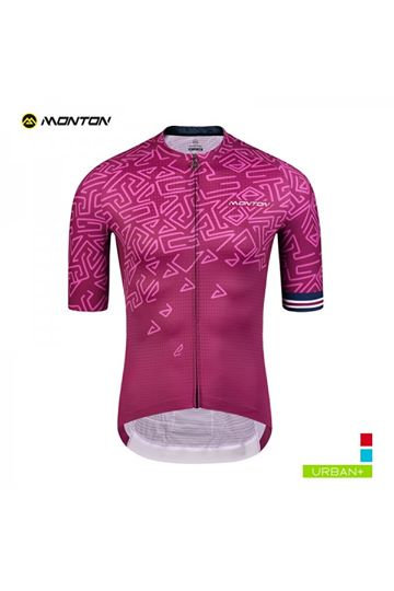 Short Sleeve Jersey Urban Ungo Purple