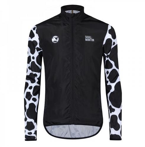 Skull Monton Cycling Jacket Windbreaker Mens Cow