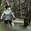 Thumbnail: SKULL MONTON WOMENS CYCLING JERSEY WEDNESDAY GRAYGREEN