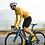 Thumbnail: SKULL MONTON MENS LONG SLEEVE CYCLING JERSEY MONDAY YELLOW