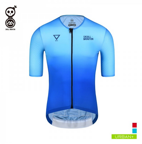COBRAND MENS SHORT SLEEVE CYCLING TOP WATER