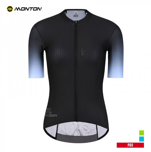 PRO CYCLING JERSEY WOMENS UNTAN BLACK