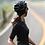 Thumbnail: SKULL MONTON WOMENS CYCLING JERSEY WEEKEND BLACK