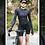 Thumbnail: SKULL MONTON WOMENS LONG SLEEVE CYCLING JERSEY WEEKEND BLACK