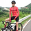 Thumbnail: SKULL MONTON WOMENS LONG SLEEVE CYCLING JERSEY SUNDAY RED