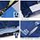 Thumbnail: Short Sleeve Jersey Urban Mondrain Blue White