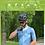 Thumbnail: URBAN MENS SHORT SLEEVE CYCLING JERSEY SPATIAL GRAY BLUE