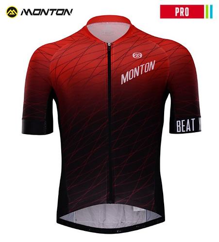 Short Sleeve Jersey Pro Deep Red