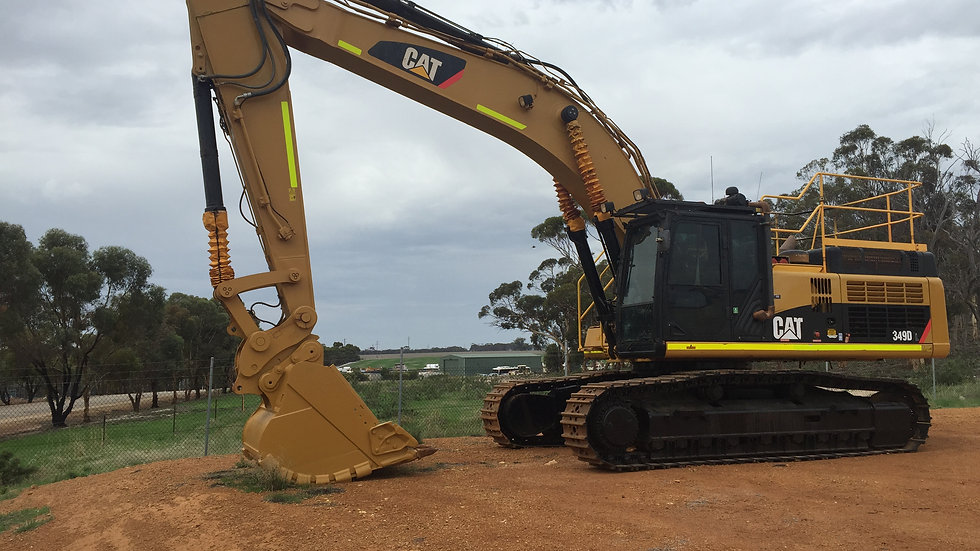 Caterpillar 349DL Excavator