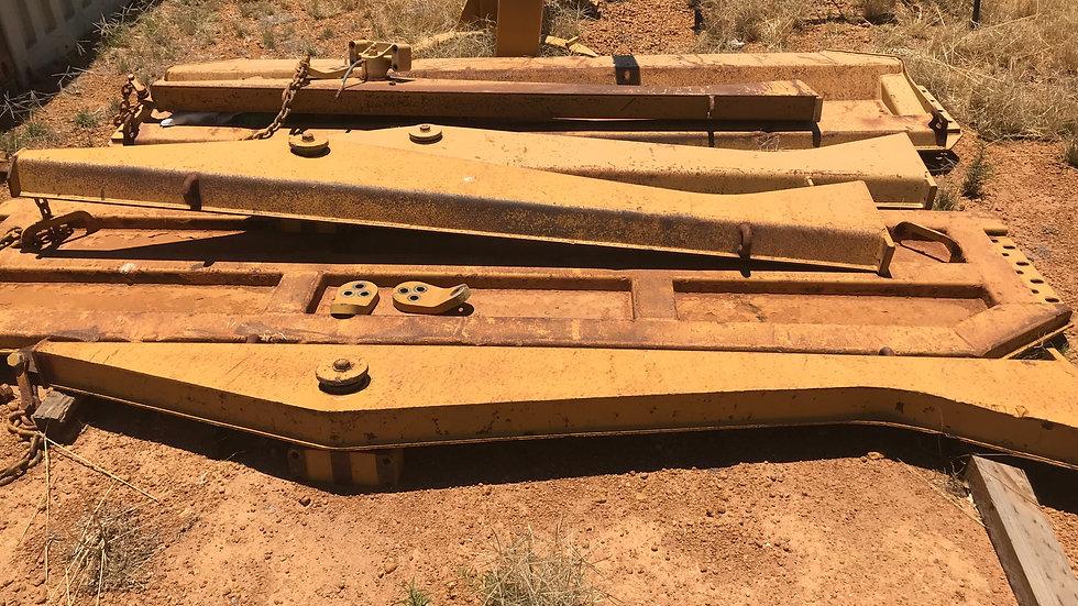 Tailgate to suit Cat 740 Artic Dump Trucks